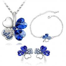 SW Set FOUR LEAF - Blau
