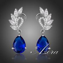Ohrringe Blue Wings AZORA - Blau