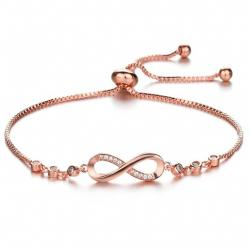 Armband Mellow Crystal-Rosa/Golden