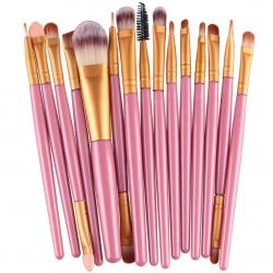 Make-up-Pinsel Lola - Rosa/Golden