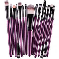 Make-up-Pinsel Lola - Violett/Schwarz
