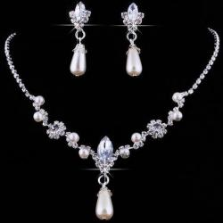 Set Wedding Pearl - Silber